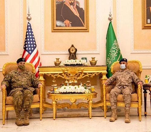 Saudi Chief of General Staff Receives Chairman of U.S. Joint Chiefs of Staff
