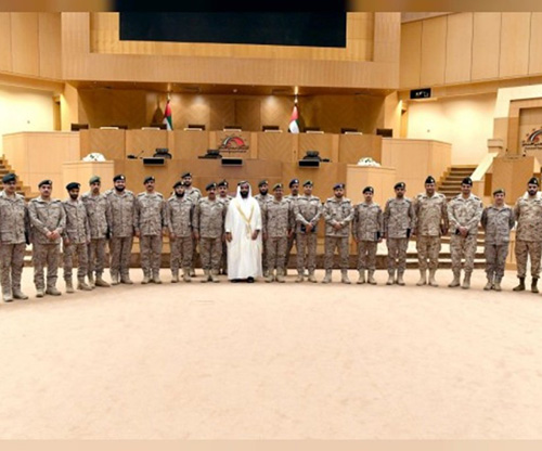 Saudi Command and Staff College Delegation Visits UAE