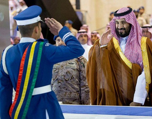 Saudi Crown Prince Patronizes Two Graduation Ceremonies