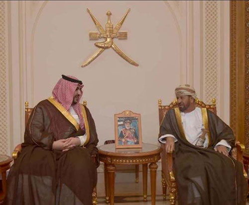 Saudi Deputy Defense Minister Visits Sultanate of Oman