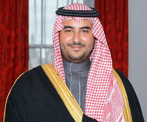Saudi Deputy Minister of Defense Inspects Leadership of Royal Land Forces