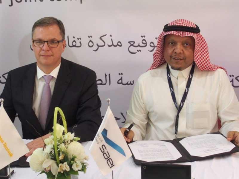 Saudia Aerospace Engineering Industries (SAEI), Lufthansa Technik Sign MoU