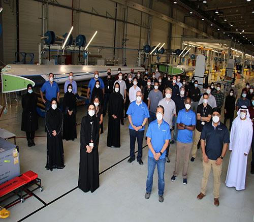 Strata Delivers First Boeing 787 Dreamliner Fin