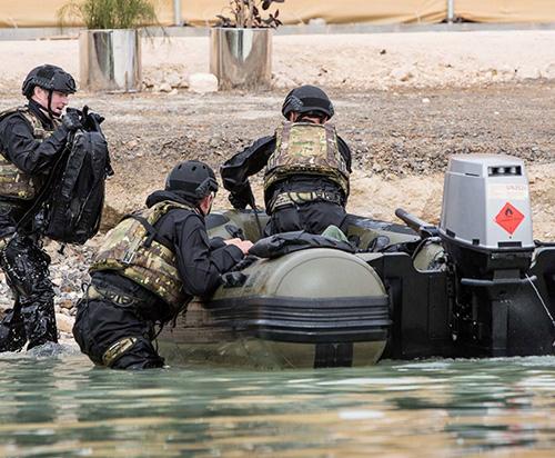 Survitec Demos Maritime Defence Equipment at NAVDEX 2019