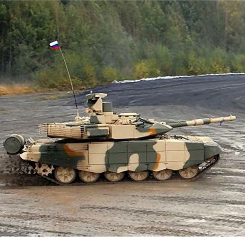 Russia to Supply T-90MS Battle Tank to Mideast Country