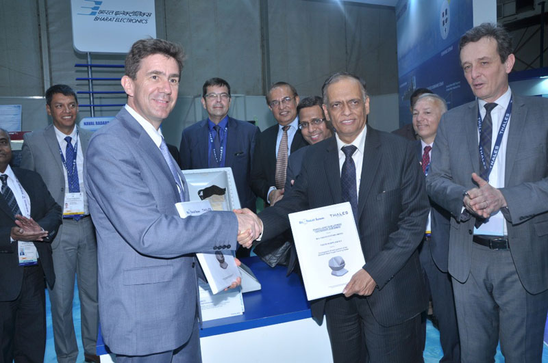 Thales, BEL-Thales Systems to Develop PHAROS Fire Control Radar