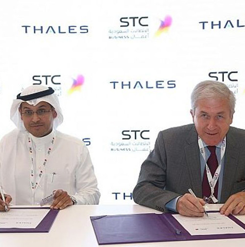 Thales, STC Sign Cloud Service Provider Agreement