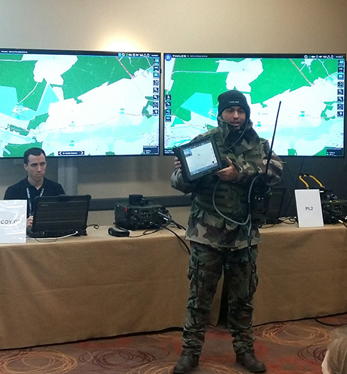 Thales Demos New Generation of Software-Defined Radios