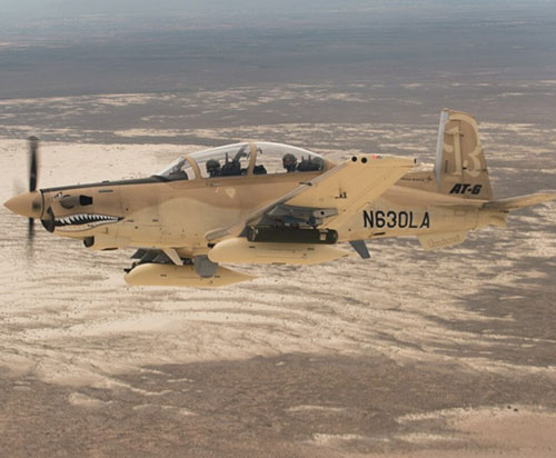 Tunisia to Receive Four AT-6 Light Attack Aircraft
