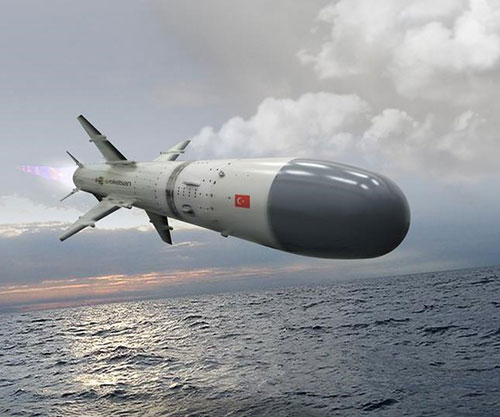 Turkey Tests Roketsan's ATMACA Anti-Ship Missile