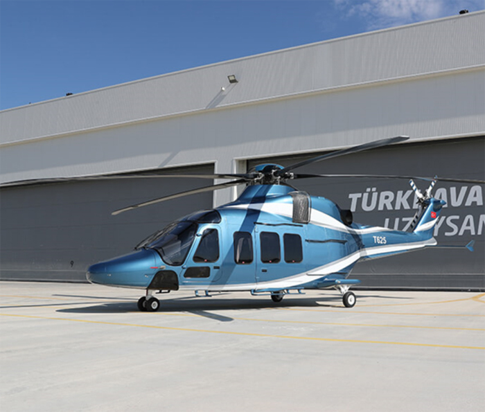 Turkish Aerospace Introduces T625 Multirole Helicopter to Gulf Region