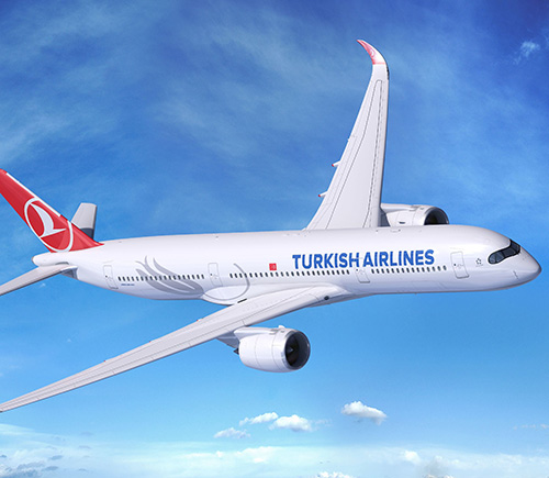 Turkish Airlines Signs MoU for 25 A350 XWB Aircraft