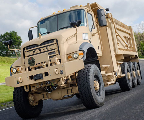 U.S. Army Orders 99 Heavy Dump Trucks from Mack Defense