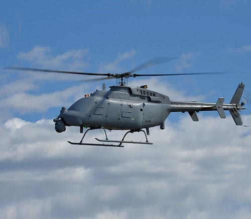 U.S. Navy, Northrop Grumman Start Flight Testing of MQ-8C Fire Scout
