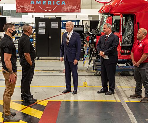 U.S. President Visits Mack Trucks Lehigh Valley Operations