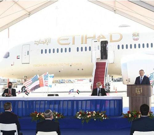 UAE, Israel Sign Air Transport Services Agreement