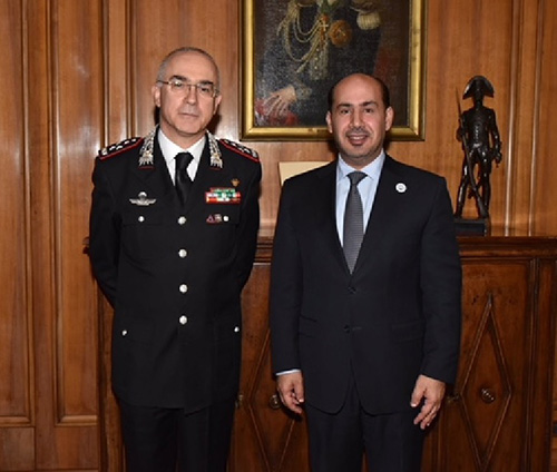 UAE, Italy Discuss Security Cooperation