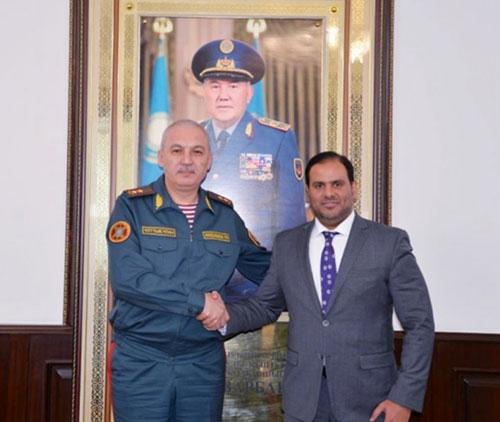 UAE, Kazakhstan Developing Military Cooperation
