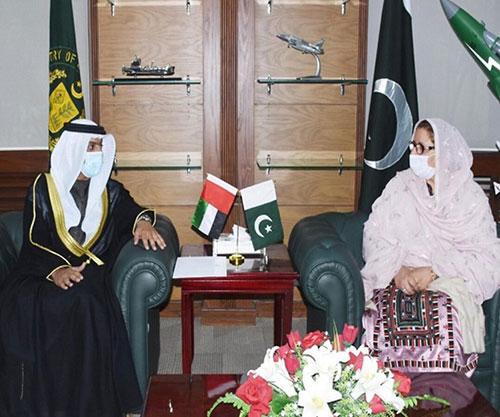 UAE, Pakistan to Boost Defense Cooperation