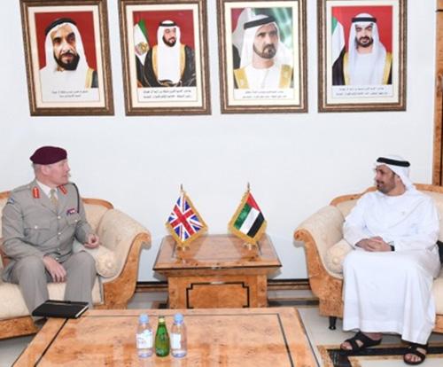UAE, UK Discuss Defense Cooperation