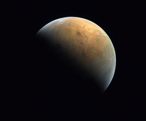 UAE's Hope Probe Sends First Image of Mars