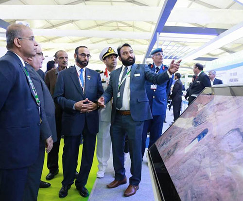 UAE's Minister of State for Defense Affairs Attends DefExpo India