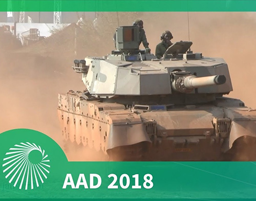 UAE Defense Ministry Delegation Attends AAD Expo in South Africa