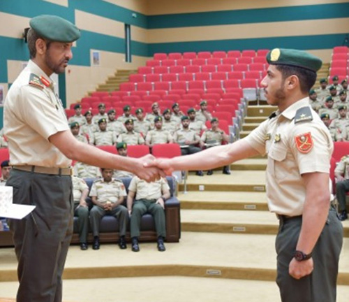 UAE Ground Forces Chief Witnesses Officers Graduation