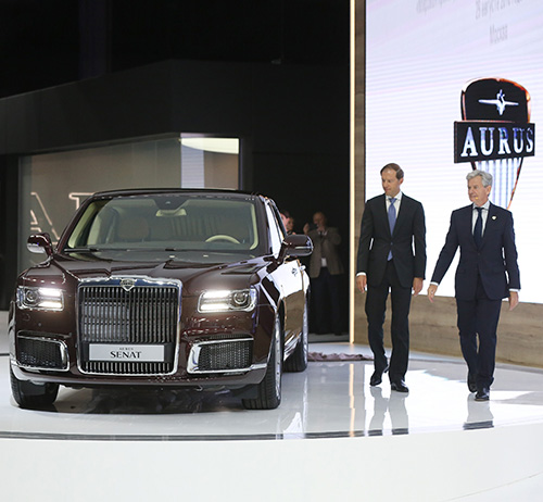 "UAE Invests US$ 125 Million in Russian Automotive ""Aurus"""