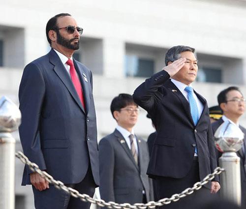UAE-Korean Supreme Military Joint Committee Meets in Seoul