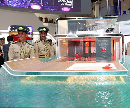 UAE Minister of Interior Unveils First Floating Smart Police Station