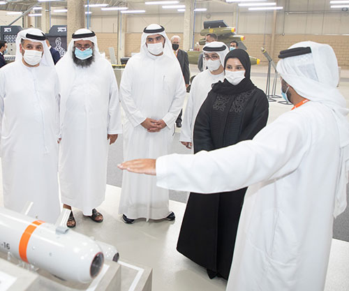 UAE Minister of State for Advanced Technology Visits HALCON Facilities in Abu Dhabi