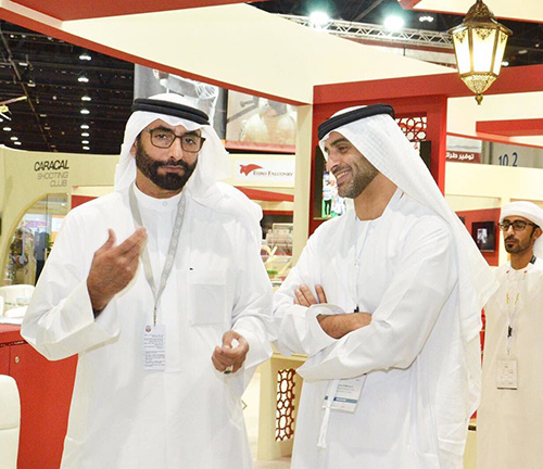 UAE Minister of State for Defense Affairs Toured IDEX Pavilions