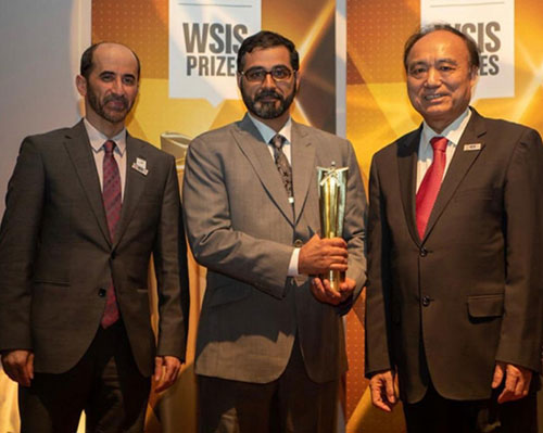 UAE Space Agency Wins WSIS Prize 2019 in Geneva