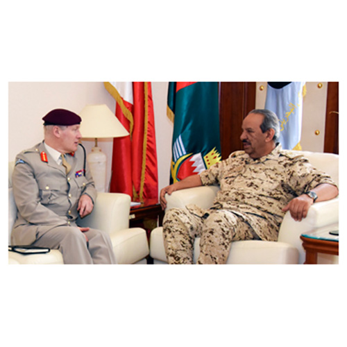 UK's Defense Senior Adviser on Middle East Visits Bahrain