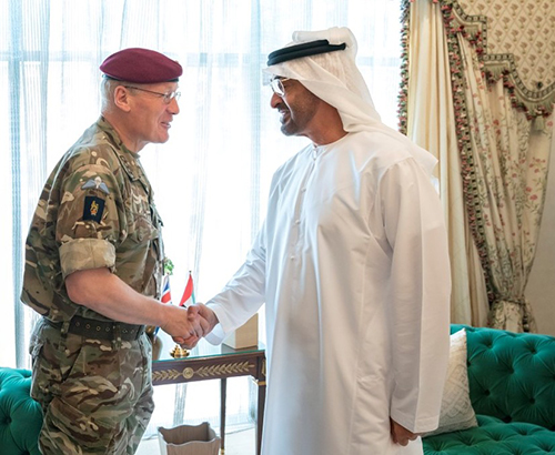UK's Defense Senior Advisor for the Middle East Visits UAE