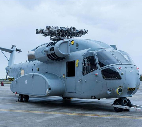 US Marine Corps Receives its Most Powerful Helicopter