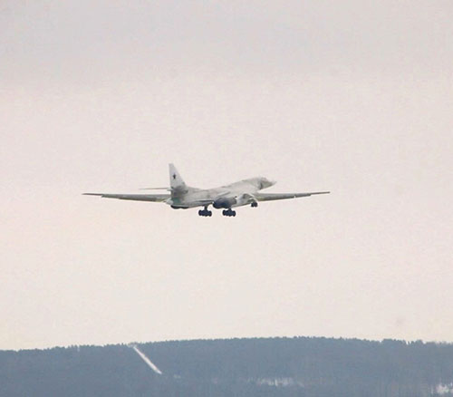 Upgraded Tu-160M Strategic Bomber Makes Debut Flight with New Engines