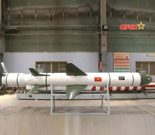 Vietnam Unveils Local-Made VCM-01 Anti-Ship Cruise Missile