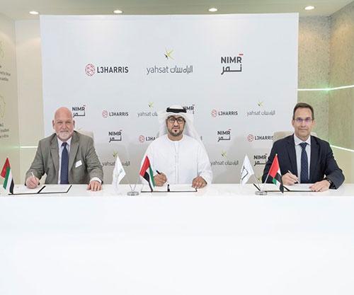 Yahsat Inks Strategic Partnerships with L3Harris and NIMR