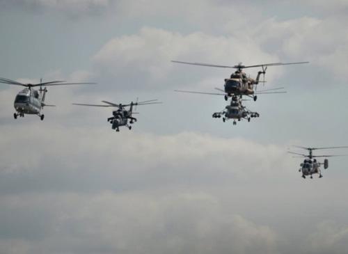 """Zhukovsky Institute Showcases """"Helicopter Killer"""" Mine at MAKS-2017"""