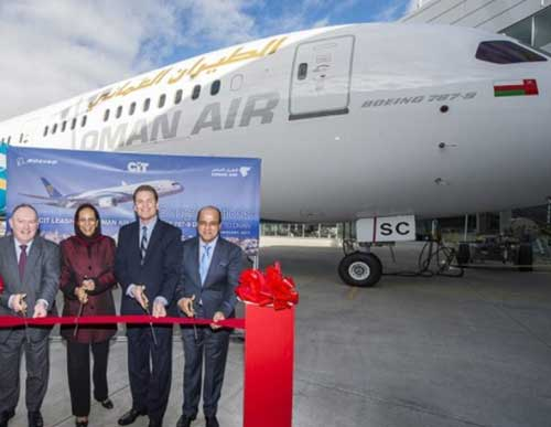 Oman Air Boosts Fleet with New Boeing 787-9 Dreamliner