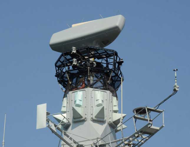 BAE Systems' Artisan 3D Radar Passes Sea-Based Trials