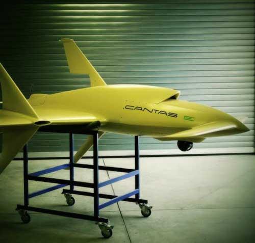 Czech UAV CANTAS E Unveiled at IDEX 2017