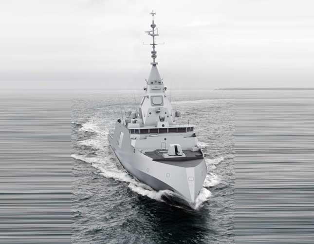 DCNS Unveils BELH@RRA® Next-Generation Frigate