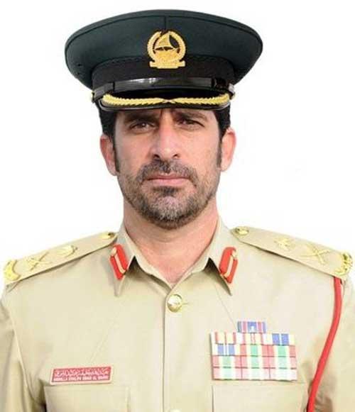 Major General Al Marri Named Dubai Police Chief