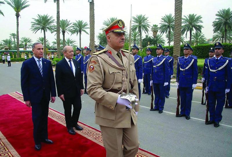 French Defense Minister Visits Iraq