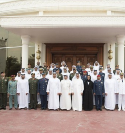 Abu Dhabi Crown Prince Receives IDEX Committee
