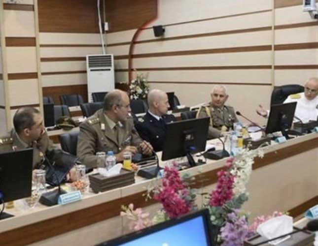 Italian Military Delegation Visits Iranian Armed Forces