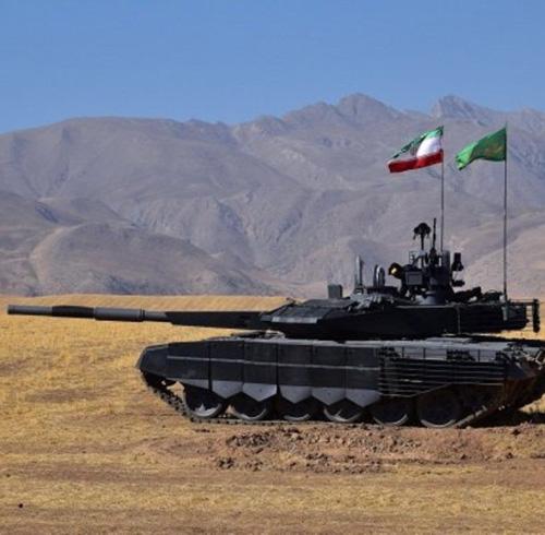 Iran Unveils Advanced Battle Tank